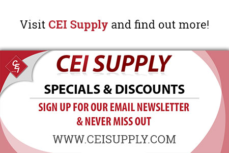 CEI sign up for newsletter for discounts