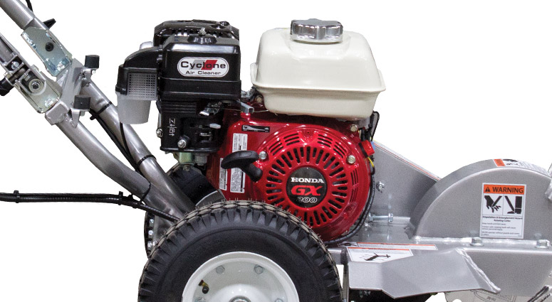 Close Up View of the 200-6HC 200 Series Mini Stump Grinder Air Cleaner