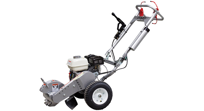 Front Left View of the 200-6HC 200 Series Mini Stump Grinder