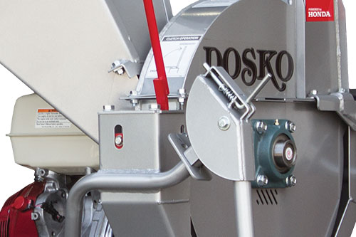 Close Up of a Dosko Brush Chipper